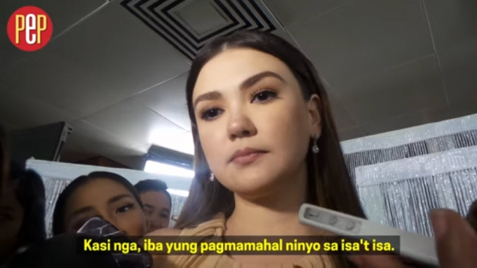 Angelica on kind of relationship now with John Lloyd