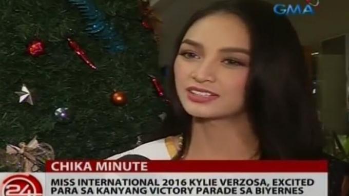 Miss International 2016 Kylie Verzosa admits depression
