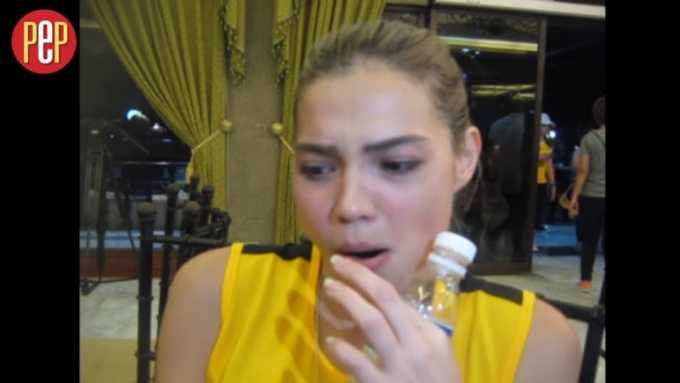 Rhian Ramos's reaction to MMFF inclusion