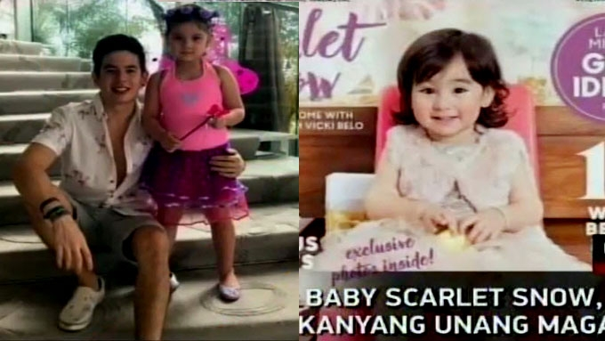 Ellie celebrates with Jake; Scarlet Snow in first mag cover
