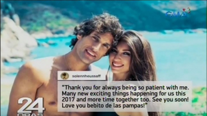 Solenn, Nico exchange Celebration of Union anniv greetings