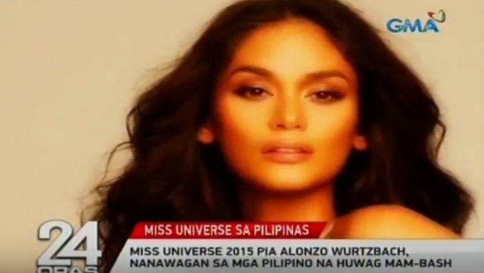 Pia Wurtzbach appeals to Pinoy pageant fans not to bash