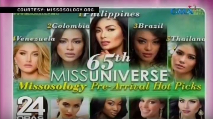 Maxine Medina among top picks of pageant experts