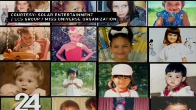 Miss Universe candidates share childhood photos