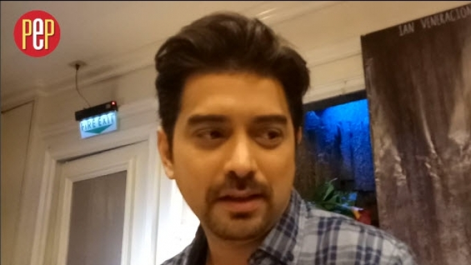 Ian Veneracion says he can fool around if he wanted to.