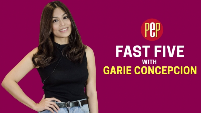 Fast Five with Garie Concepcion