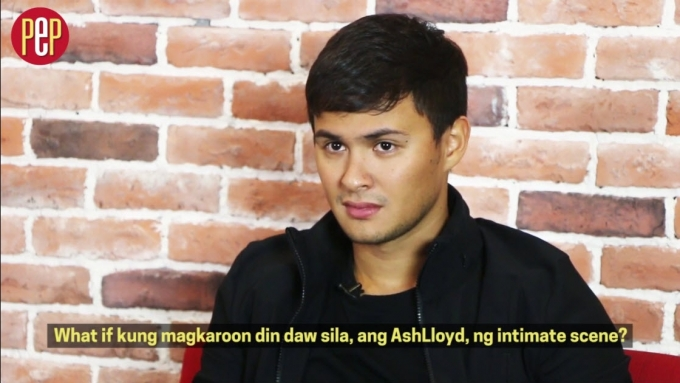 Matteo Guidicelli on what he feels about AshLloyd