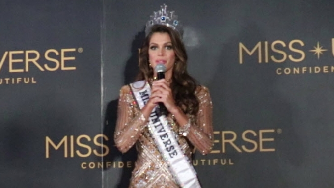 Miss Universe 2016 has this to say about Pinoys