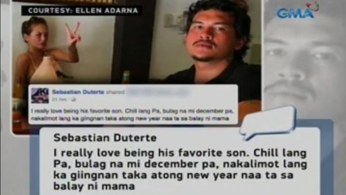 Baste messages dad Pres. Duterte re breakup with Ellen