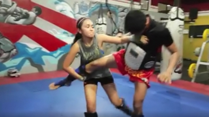 WATCH: Kathryn Bernardo doing muaythai