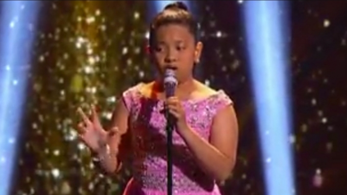 Elha Nympha's performance in Steve Harvey's Little Big Shots