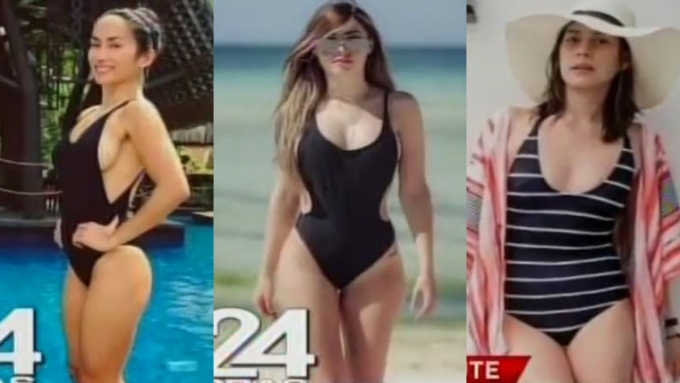 Ina Raymundo, Daiana Menezes, Bettina Carlos hit the beach