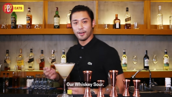 "Rocco Nacino: How to make ""Whiskey Sour"""