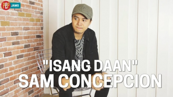 PEP JAMS. Sam Concepcion sings '1sang Daan'