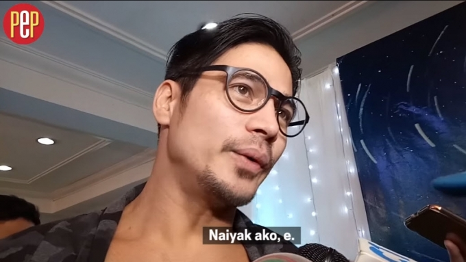 What made Piolo Pascual cry
