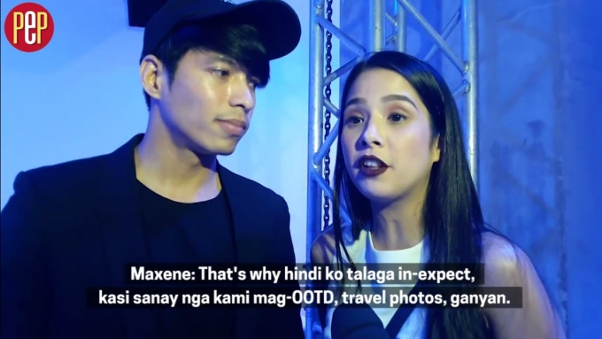 Robby and Maxene relate how their engagement happened