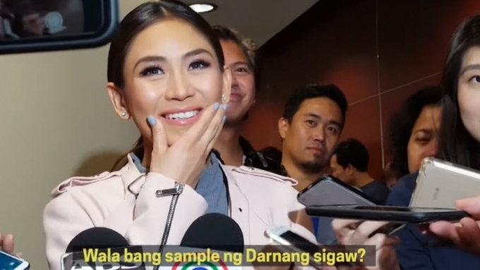 Darna in jumpsuit, you like? Asks Sarah Geronimo