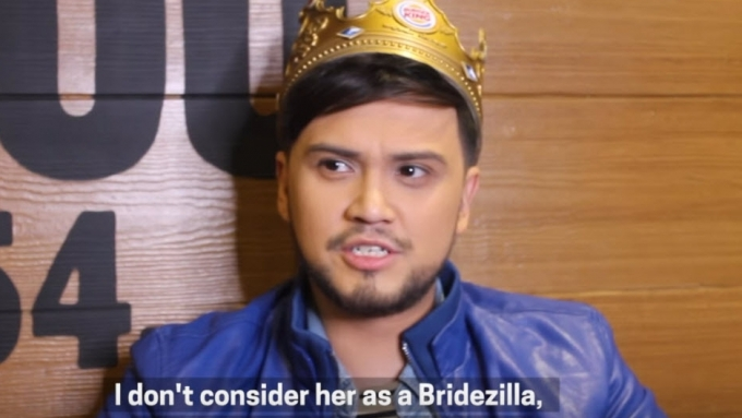 Billy Crawford calls Coleen Garcia what?