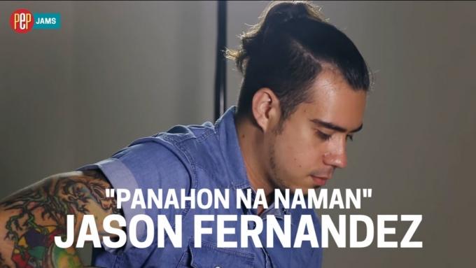 PEP JAMS. Jason Fernandez performs acoustic Panahon Na Naman