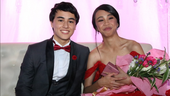 What was Edward Barber's birthday gift to Maymay Entrata?