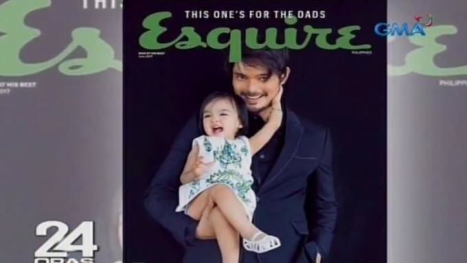 Marian Rivera proud of Dingdong-Baby Zia Esquire cover