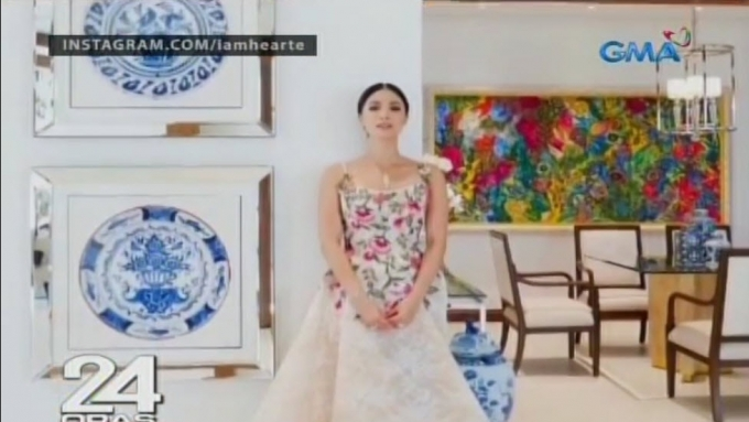 Heart Evangelista shows off interior of stylish mansion