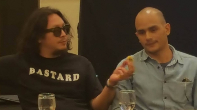 Baron Geisler, Kiko Matos make a scene at URCC presscon
