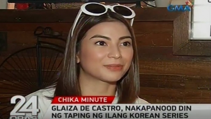 Glaiza de Castro introduced to K-Drama actors while in South