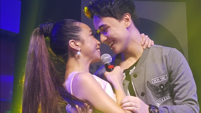 Maymay Entrata and Edward Barber perform