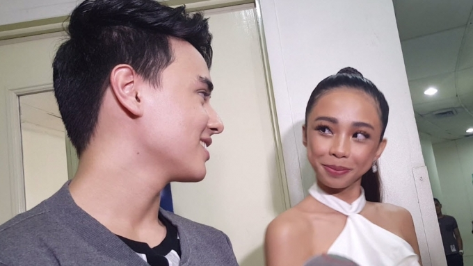 Maymay, Edward showing support for each other is so sweet!