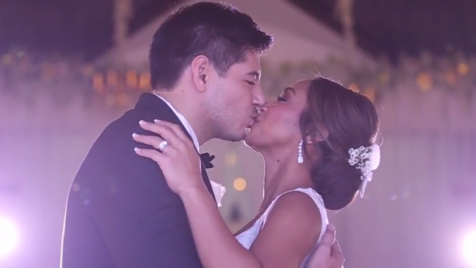Watch Rochelle Pangilinan and Arthur Solinap exchange vows