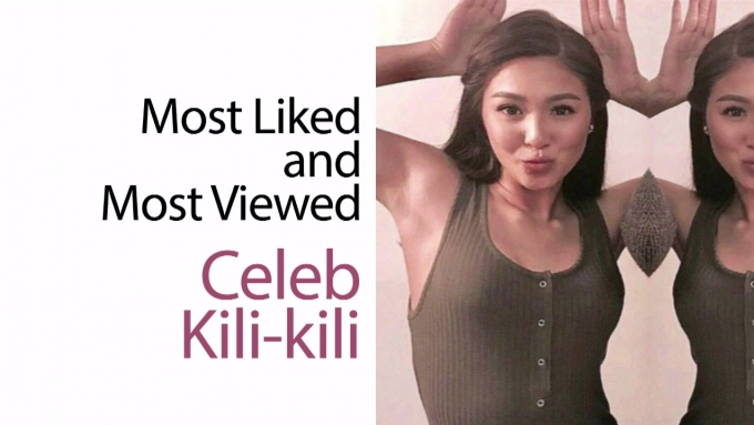 Who's got the most liked and most viewed celeb kili-kili?