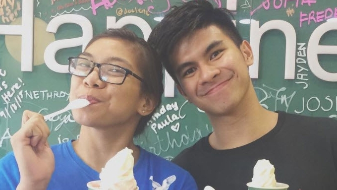 """""""Competition"""" between Alyssa and Kiefer"""