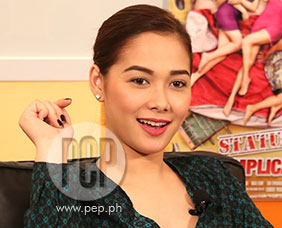 PEPtalk Flash. Maja Salvador impersonates Jaya and Kris Aquino!