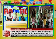 Alden Richards and Yaya Dub do Guy and Pip impersonation in