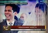 Miriam Quiambao is now Mrs. Ardy Roberto