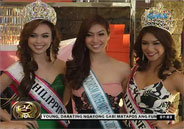 Mutya ng Pilipinas beauty queens want to win in Miss Intercontinental