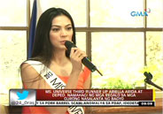 Ariella Arida and DepEd give relief goods to Yolanda victims who are t