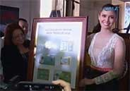Miss World 2013 Megan Young featured in commemorative stamp of PhilPos