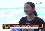Marian Rivera turns over banca to Yolanda victims