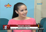 2013 Miss World Megan Young to join releif operations for Yolanda vict