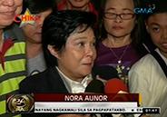 Nora Aunor hailed as Alagad ng Sining ng Mamamayan by teachers