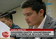 Dingdong Dantes confirms he is not running for public office in 2016