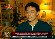 Lance Raymundo gets a new look after aesthetic surgery