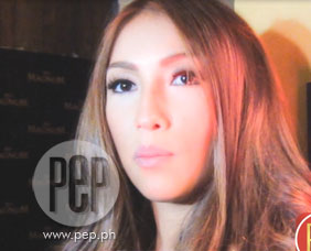 Solenn Heusaff says that it was a challenge to act in