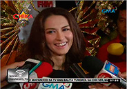 Marian Rivera glitters in gold at FHM 100 Sexiest victory party
