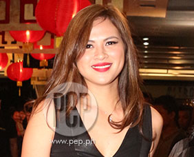 Precious Lara Quigaman talks about role in