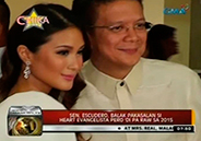 Sen. Chiz Escudero says wedding to Heart Evangelista will not happen i