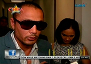 Derek Ramsay, Mary Christine Jolly, and son face each other at fiscal'