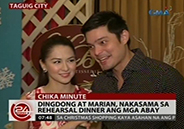 Marian Rivera and Dingdong Dantes do rehearsal dinner with wedding ent